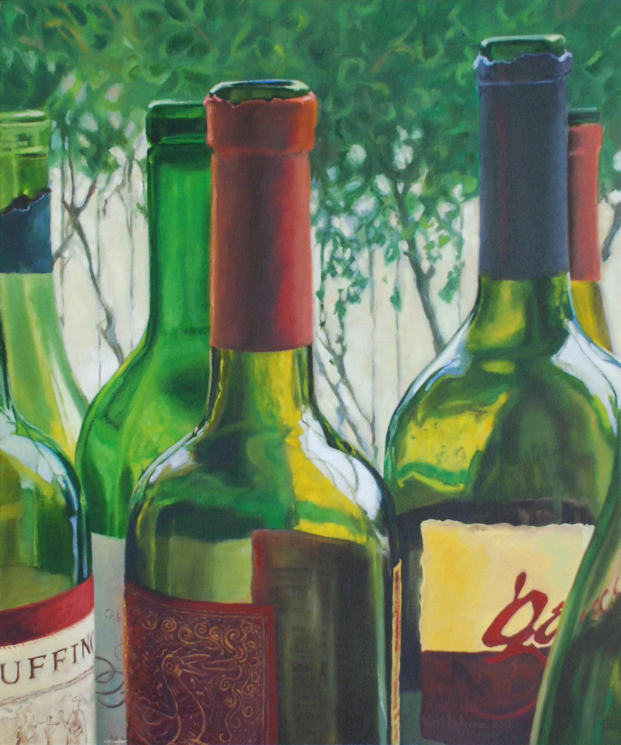 Bottle Portrait 2