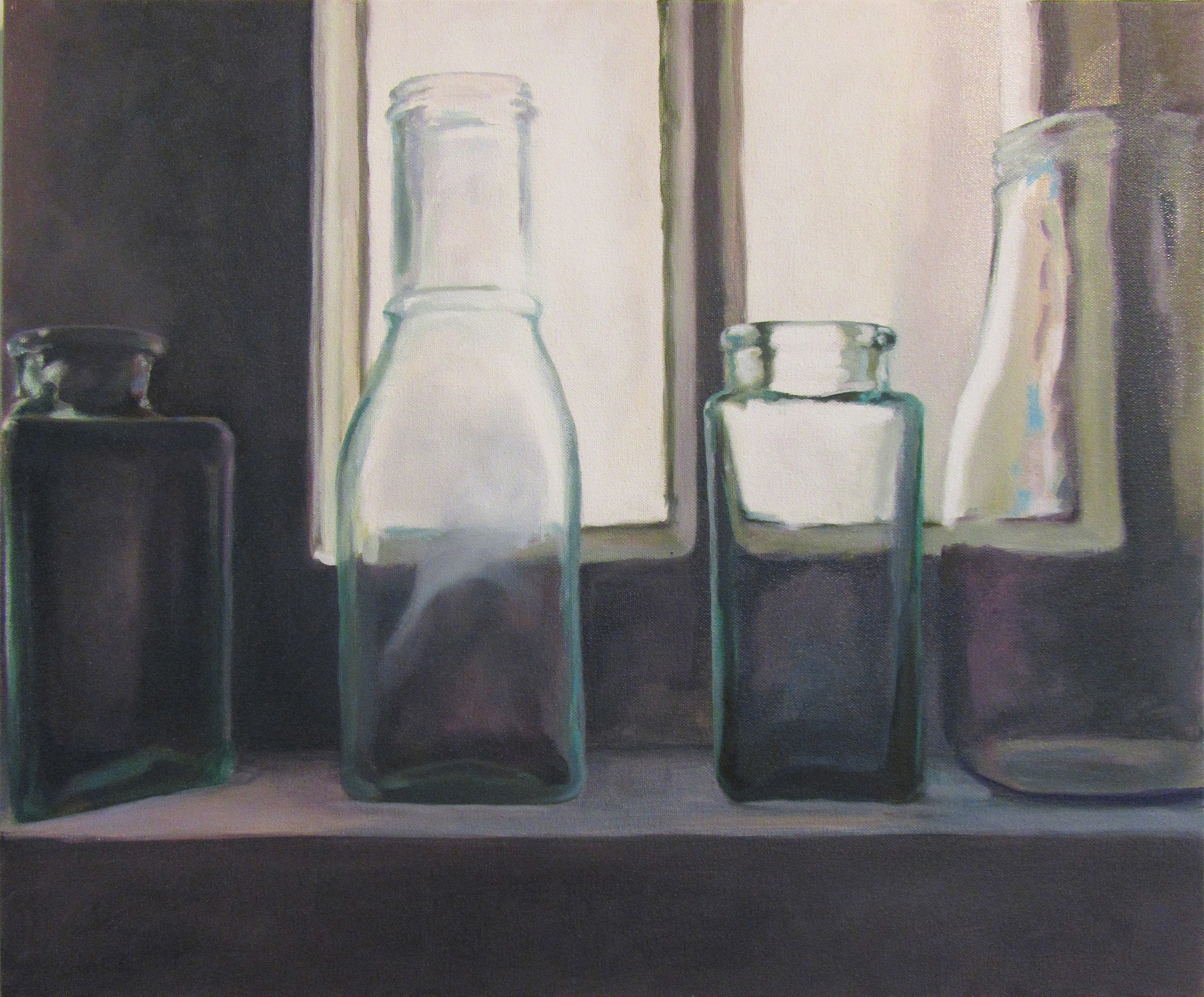 Bottles in Black