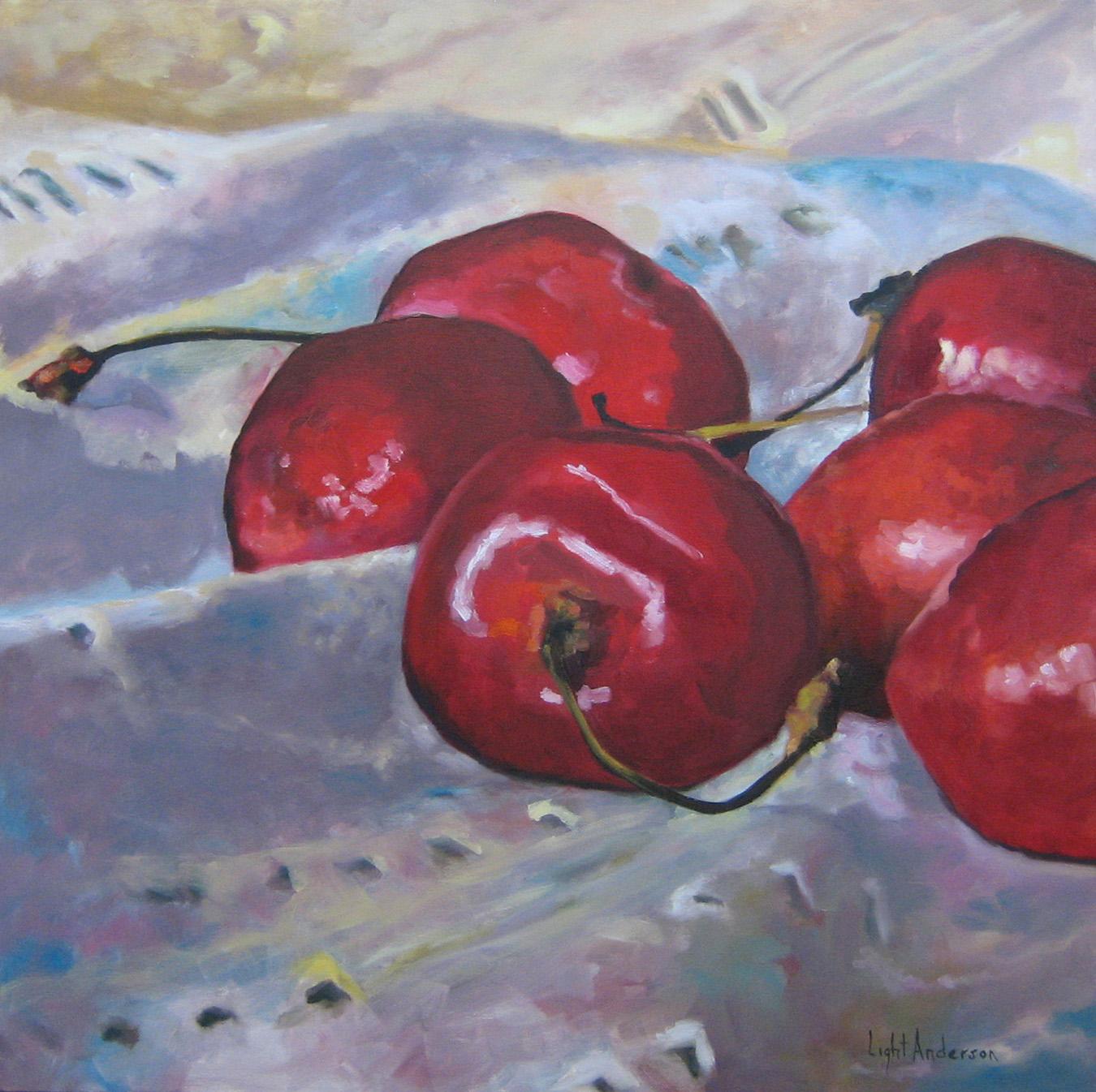 Cherries on Cloth