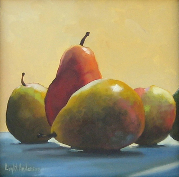 Posing Pears 2