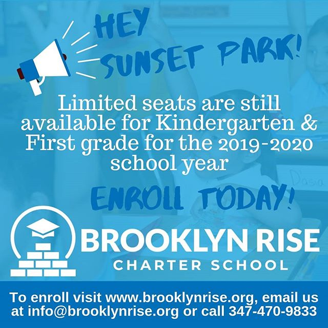 Join the Brooklyn RISE Founding Family! Enroll and register today! Limited seats are still available. Give us a call 📞. #togetherweRISE #brooklynRISE #bkRISE #sunsetpark #sunsetparkbrooklyn #foundingfamily