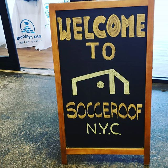 Its official! Brooklyn RISE & Socceroof have partnered to offer our students 2 hours of soccer every Friday! We had such a great partnership celebration with our Founding Families today. #brooklynRISE #bkRISE #sunsetpark #sunsetparkbrooklyn #togetherweRISE