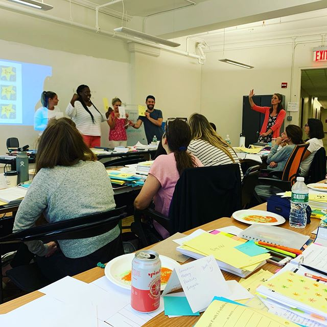 This #ThankfulThursday goes out to the Institute for Multi-Sensory Education (IMSE) for providing our Head of School @caryfinnegan with amazing professional development this week 🤓 . . Did you know that 75% of students not reading on grade level by the end of 3rd grade will never catch up to their grade-level peers? . . At Brooklyn RISE we believe in the fundamental importance of literacy and we commit to our families that all our students will be reading on or above grade level by the end of 3rd grade 📖 . . To make good on this promise, our school leader has spent the week diving into phonics instruction using IMSE's multi-sensory approach so that each student at our school is given the opportunity to be successful in reading through visual, auditory, and kinesthetic instructional approaches 💪 . . #brooklynRISE #bkRISE #withconfidence #withvoice #withpurpose #togetherwerise #readbabyread #lifelonglearning #wholebrainlearning #literacymatters