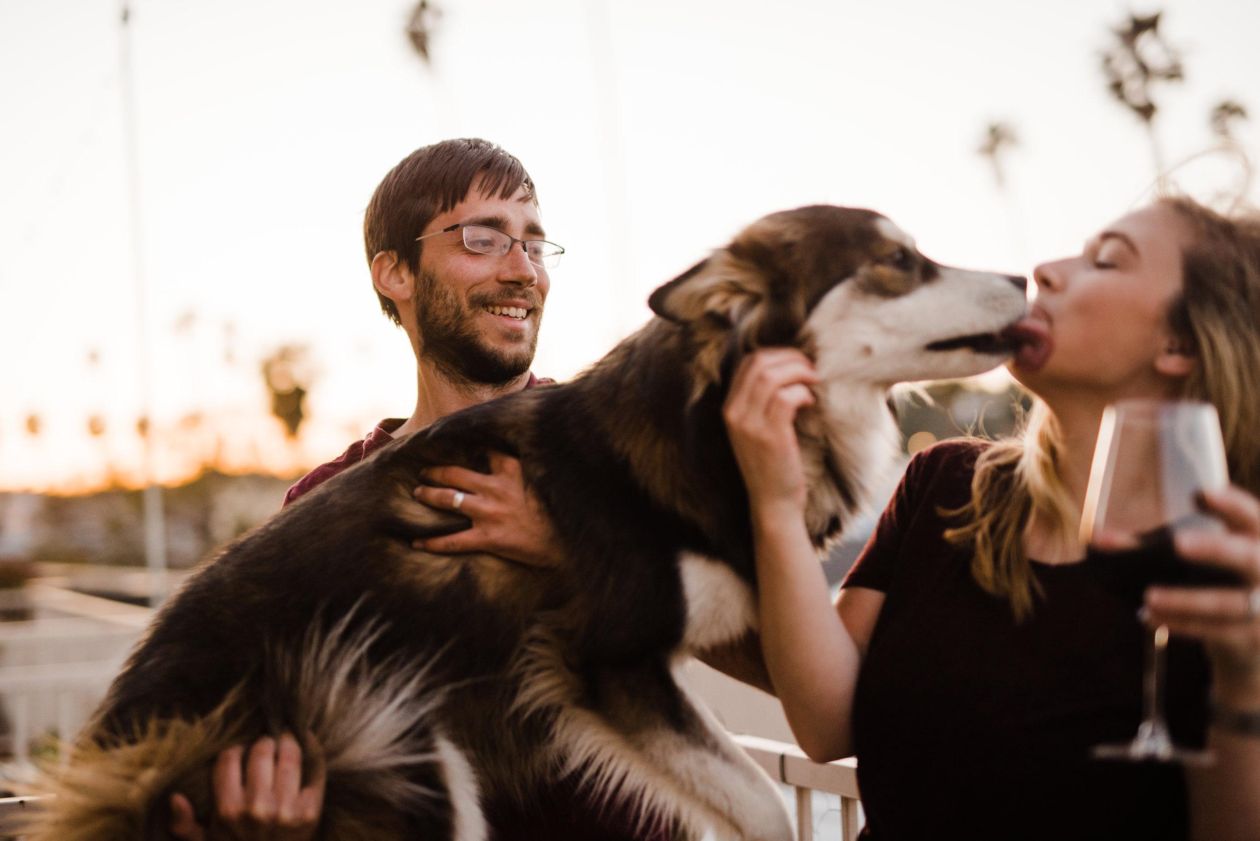 LA wedding photographer candids