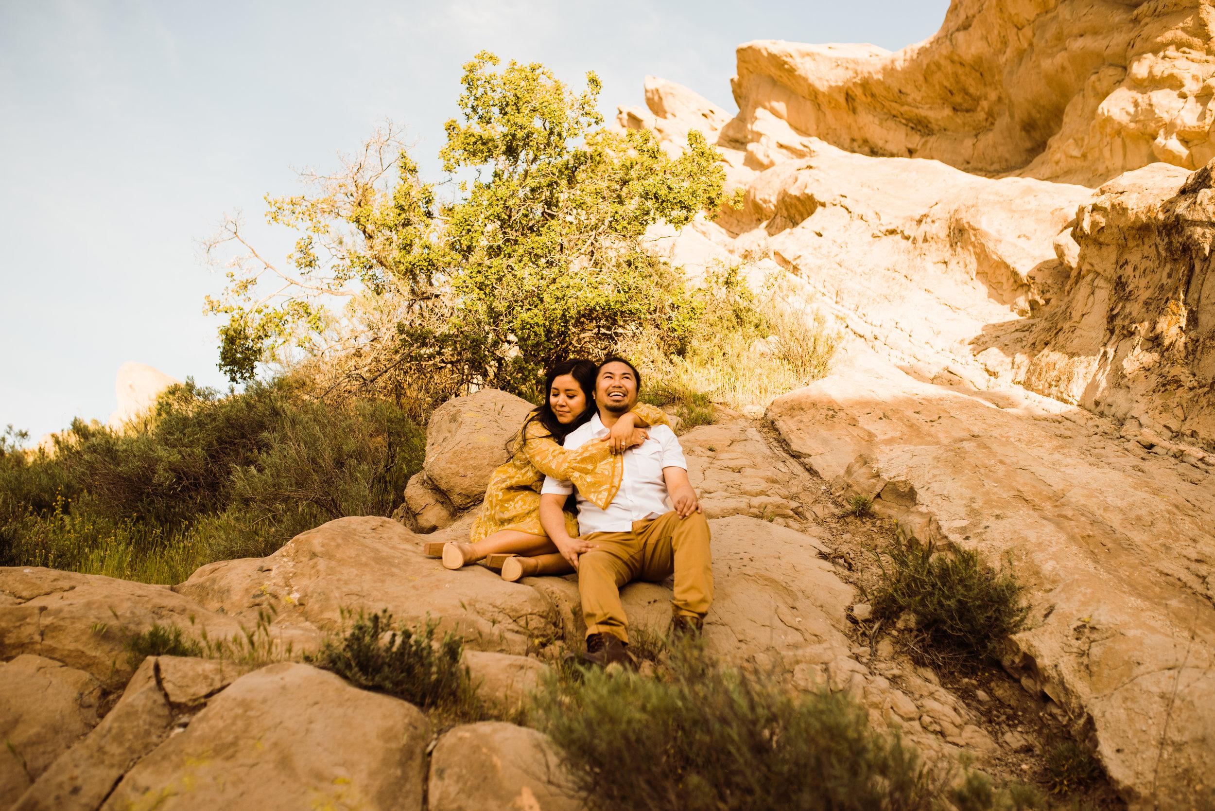 Vasquez Rocks Engagement Shoot, socal Wedding Photographer