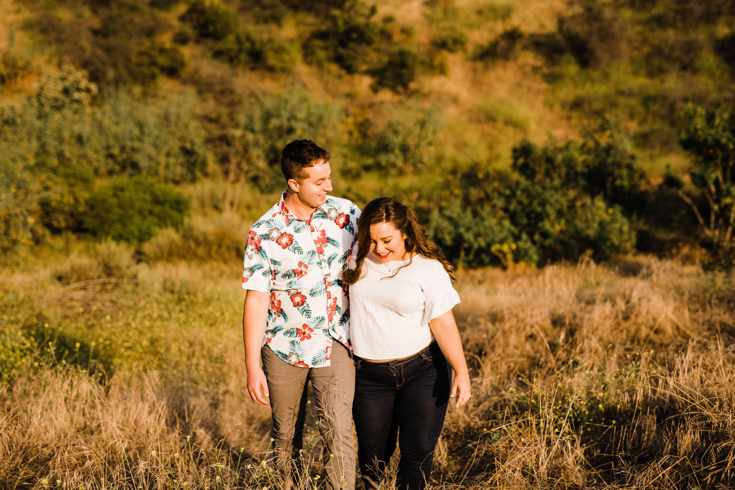 Adventurous Summertime Engagement Session in Bronson Canyon, Los Angeles.