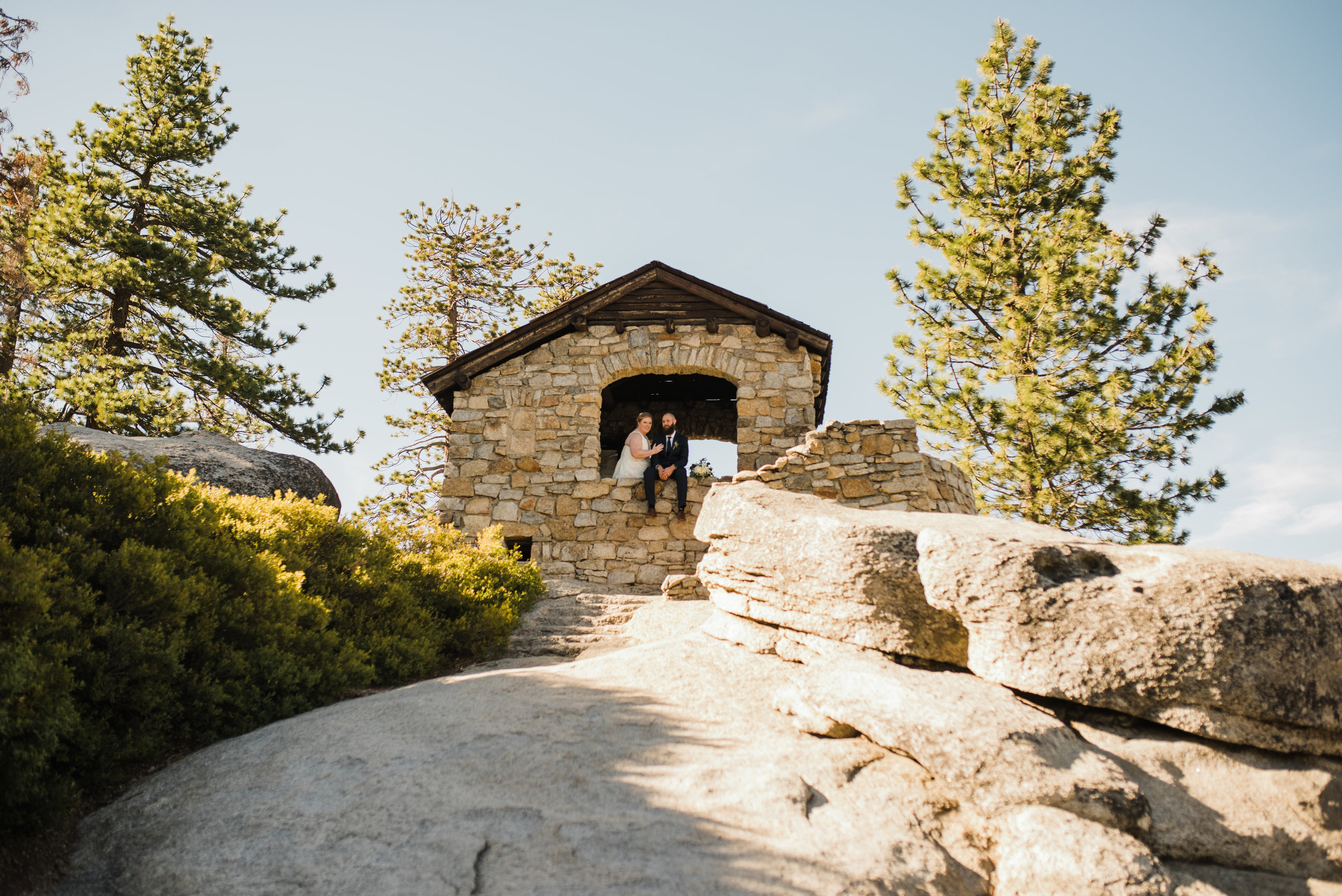 Glacier Point Yosemite Geology Hut Built in the 1920's is a beautiful spot for some romantic portraits!