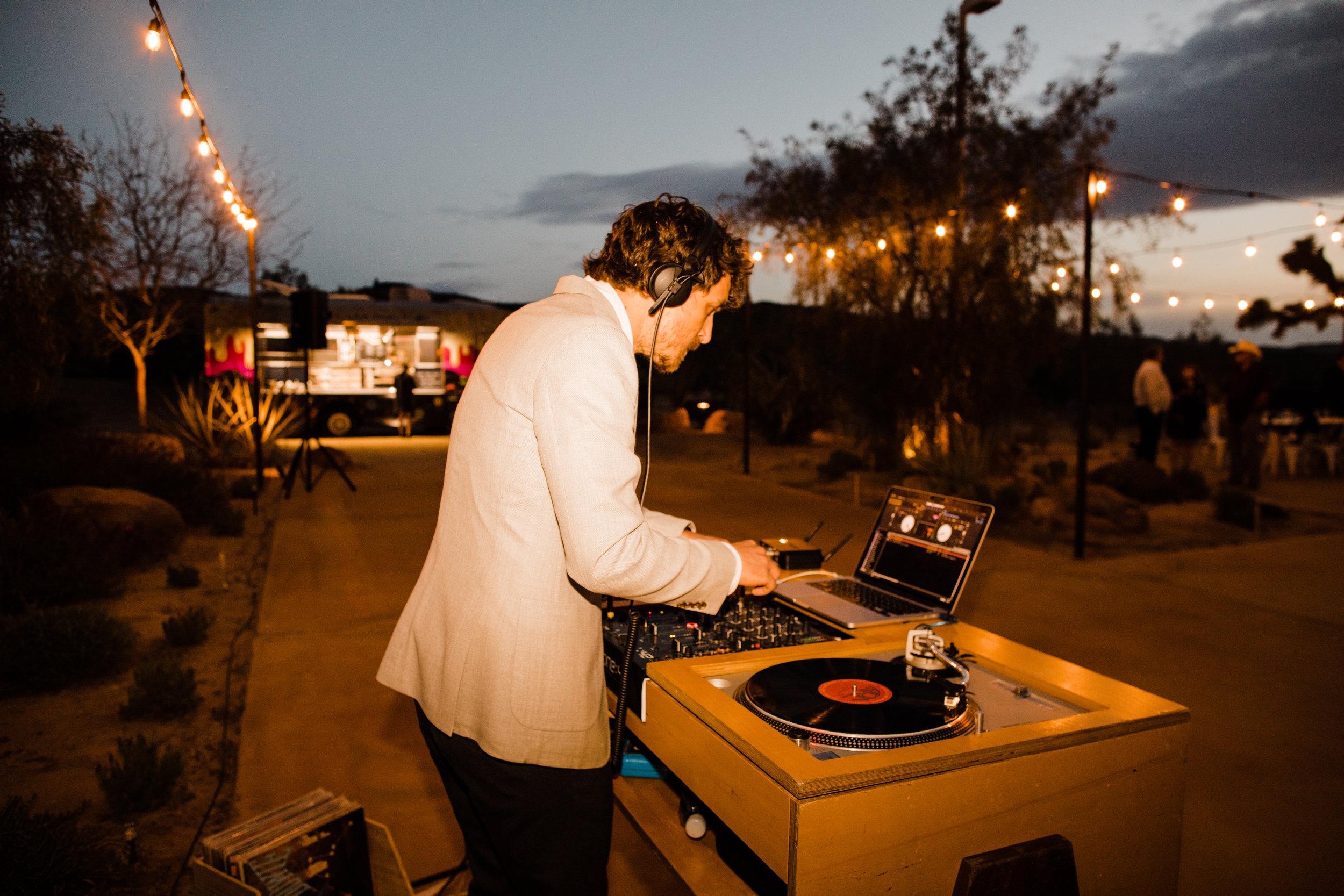 Supermoon DJs at Tumbleweed Sanctuary Reception