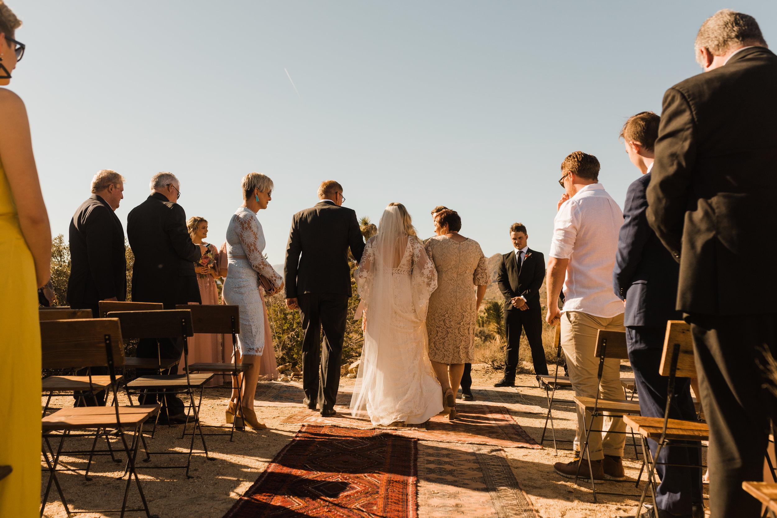 Boho Indie Intimate Wedding at Cactus Moon Retreat in Joshua Tree