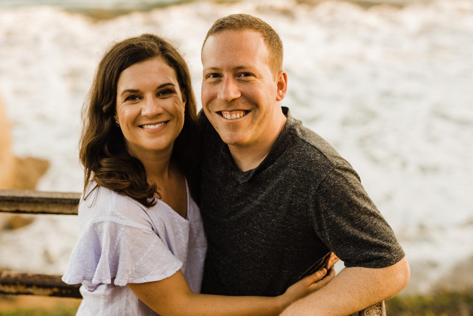 Romantic Engagement photos in Malibu, California