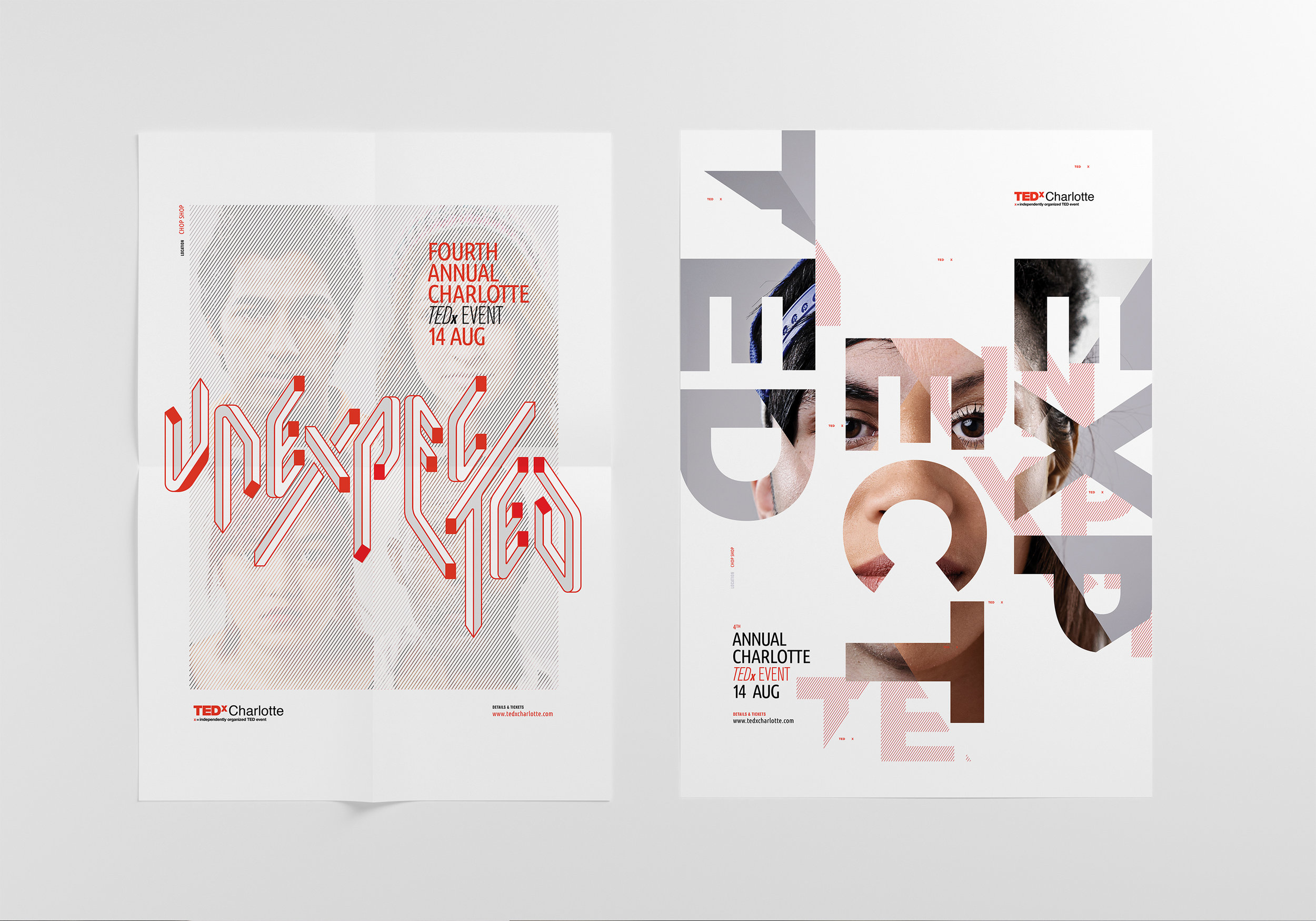TEDx Unexpected Poster Series