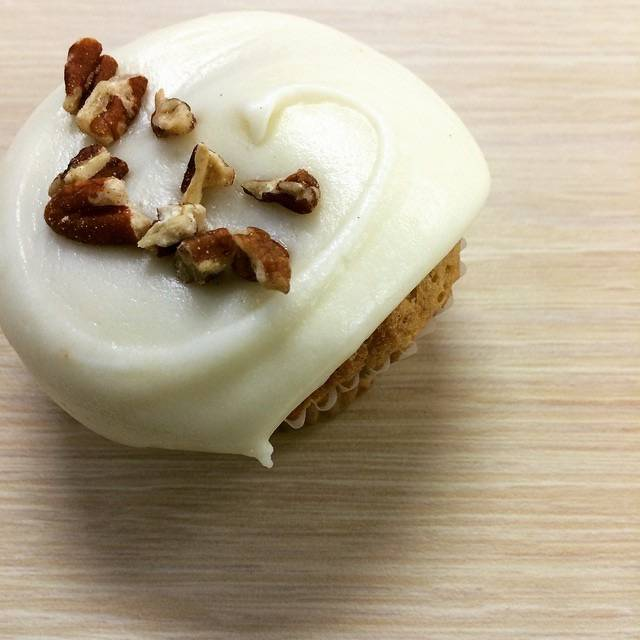 Hummingbird cupcake from Magnolia Bakery