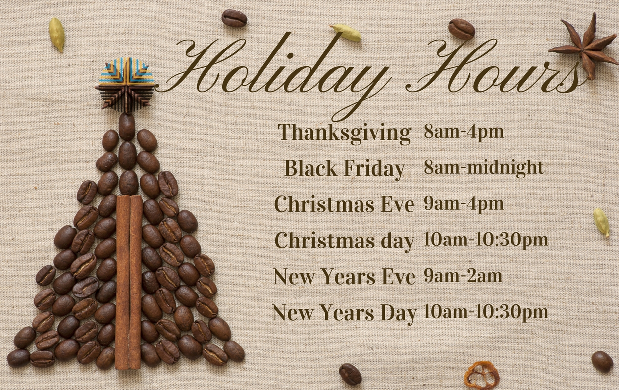 Cafe con leche, Logan Square Chicago restaurant holiday hours for December 2017 and New year's eve & Day 2018.