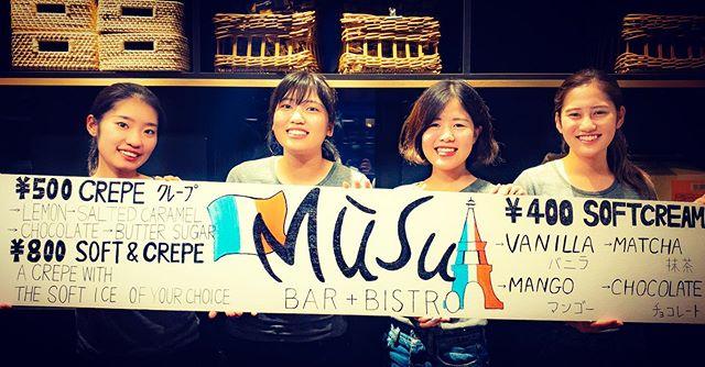 """""""Hirafu Matsuri: Ready!"""" Tags: #musu #niseko #matsuri #hirafumatsuri  #crepe #french #breakfast #lunch #coffee #brunch #bistro"""