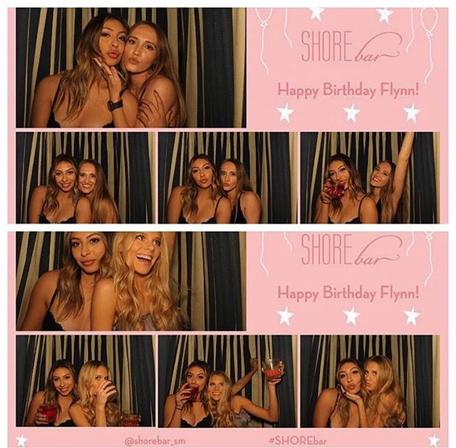 """We want to throw you a birthday party you'll never forgot"" - @shorebarsm 🌊💘 // #photobooth #photoboothparty #pbo"
