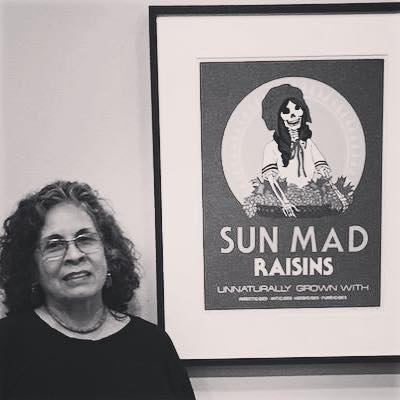 Ester Hernández is a San Francisco-based Chicana visual artist best known for her pastels, paintings, and prints of Chicana/Latina women. Her work contains political, social, ecological, and spiritual themes that reflect her interest in community and political action. #internationalwomensday