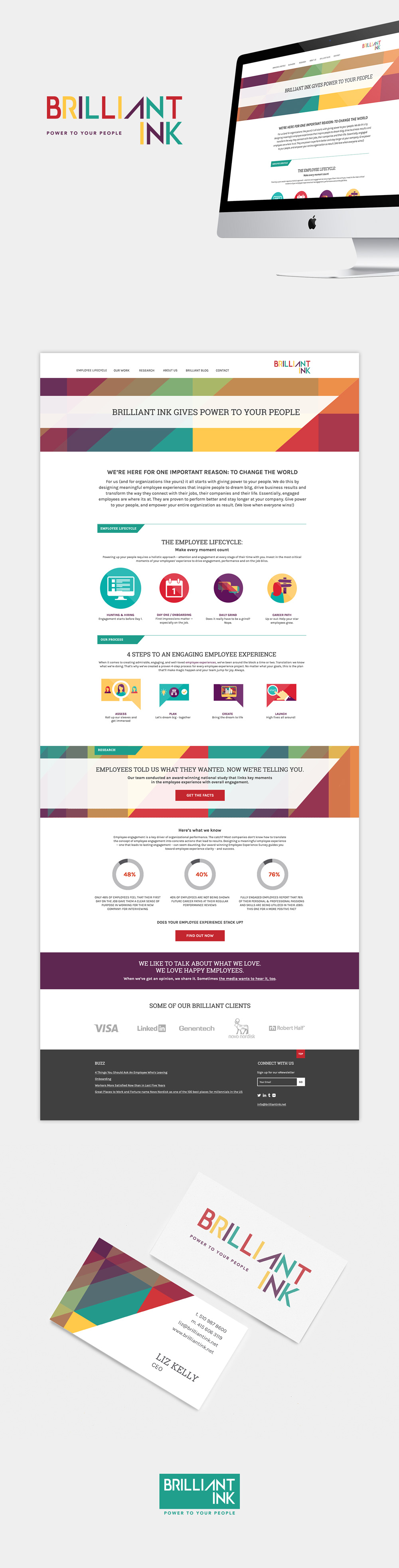 Branding and web design by jennifer-miranda.com