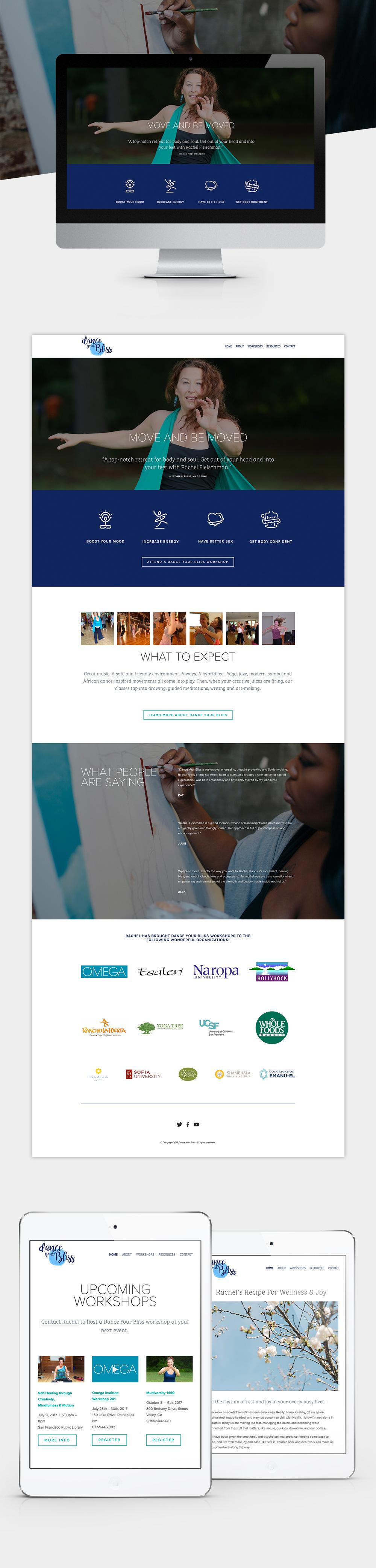 Web design and development by Vancouver designer, Jennifer Miranda Grigor //  jennifer-miranda.com