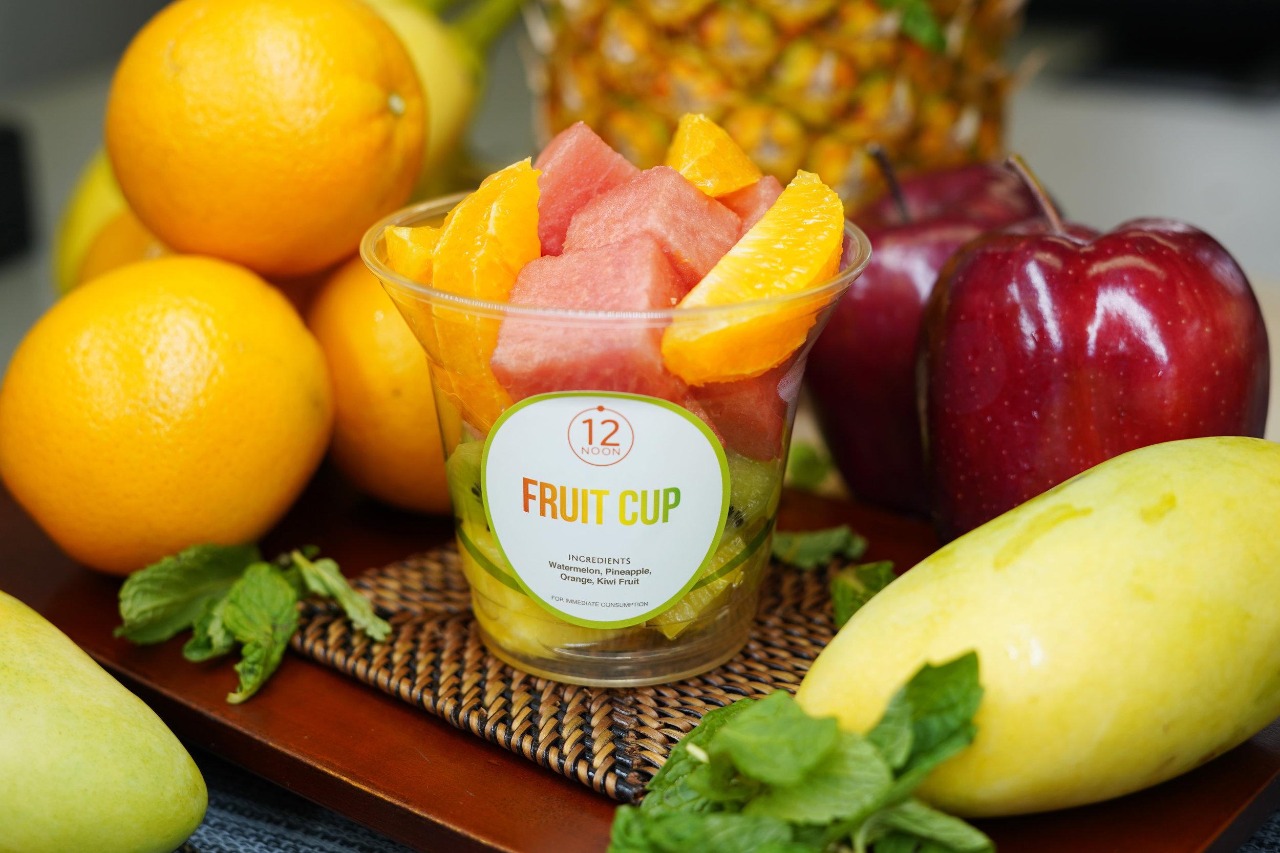 FRUIT CUP - Watermelon, Pineapple, Orange, Kiwi Fruit$25