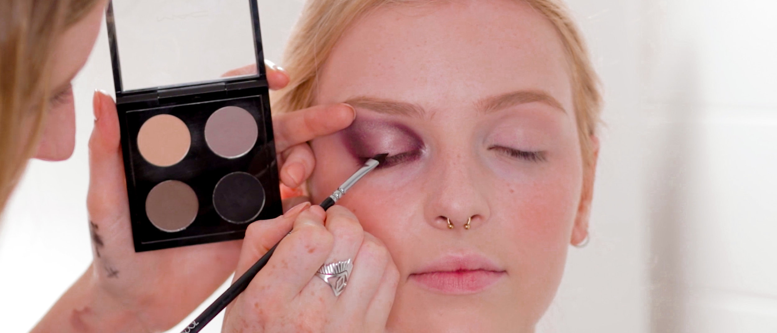 Makeup Techniques For Eyes, Lips & Brows -