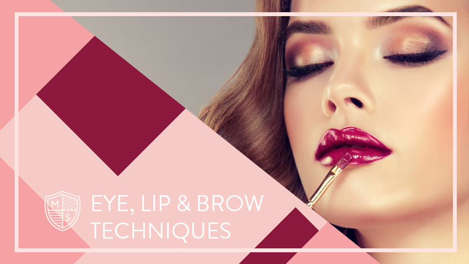Techniques for Eyes, Lips & Brows - Get access to all of our eye, lip and brow modules in this fun and in-depth course. With eyeshadow demos, eyeliner workshops, brow tutorials, lash lessons and more, you will learn how to create flattering makeup looks for your individual face.