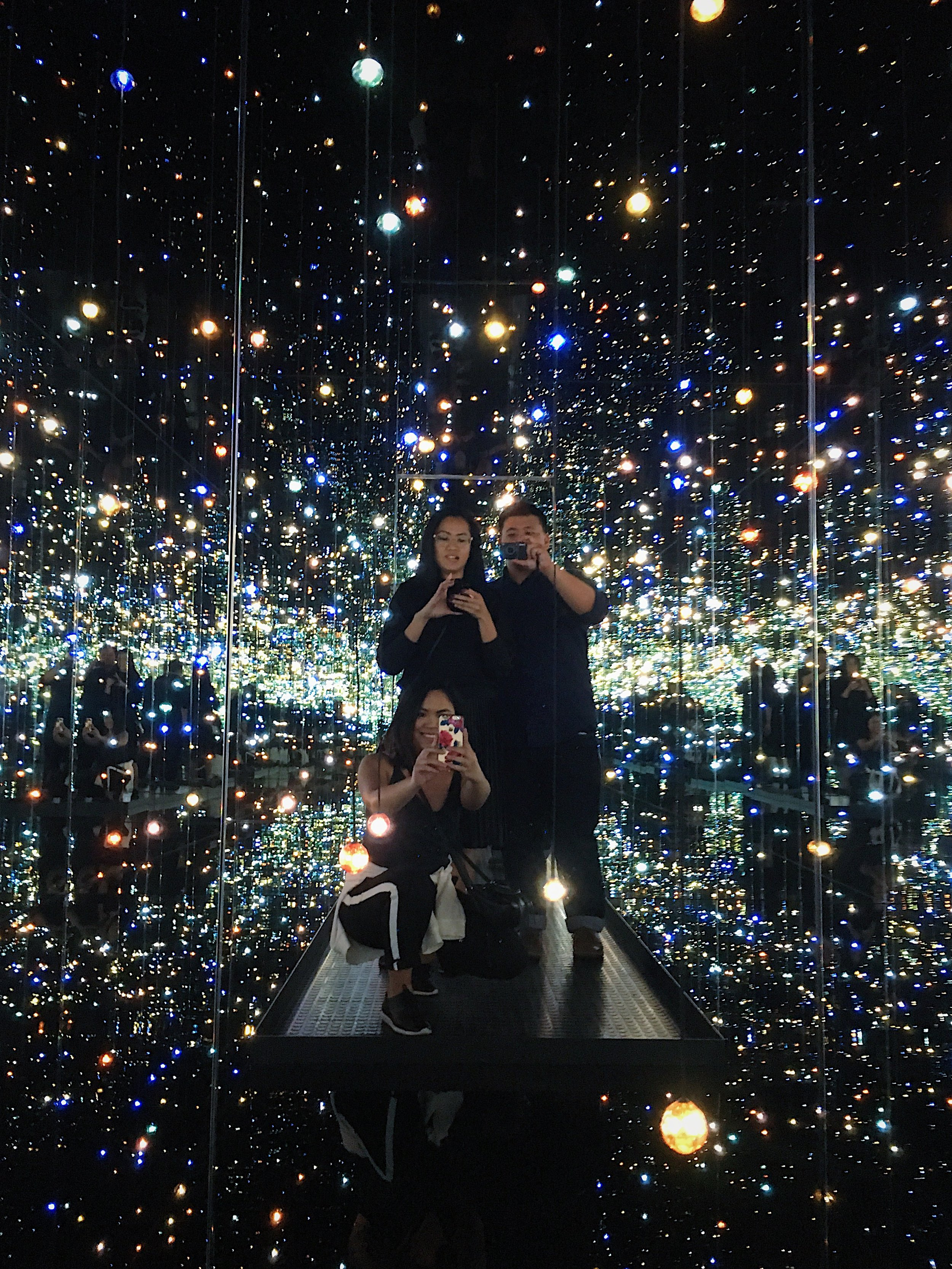 Infinity Mirrored Room -- The Souls of Millions of Light Years Away (2013)