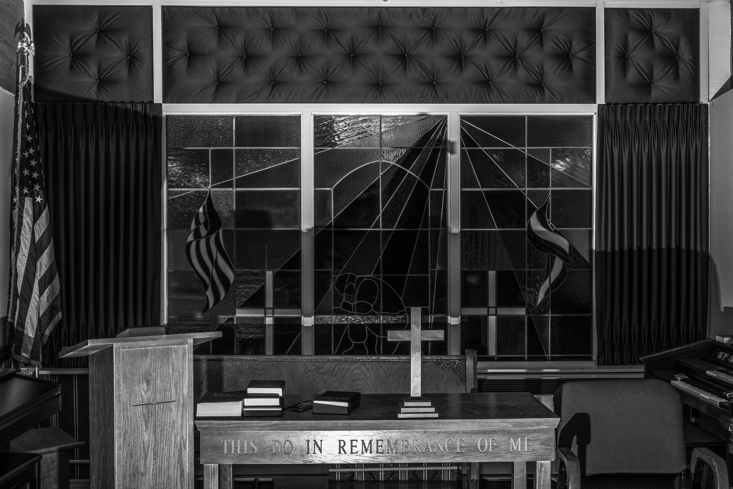The chapel as seen at the Missouri Veterans Home in Mexico, Missouri on Friday, Jun. 21, 2019.