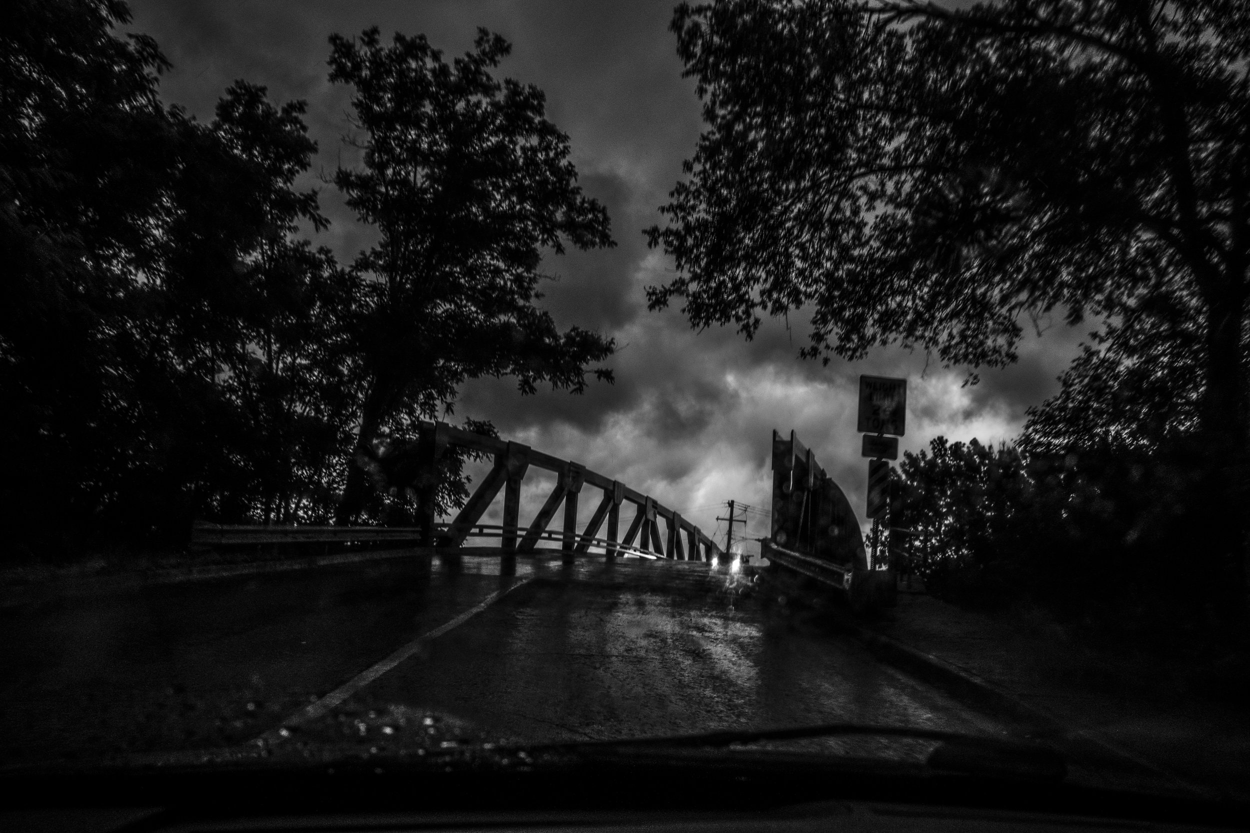 The South Clark Street bridge in Mexico, Missouri as seen during a rainstorm on Sunday, Jun. 16, 2019.