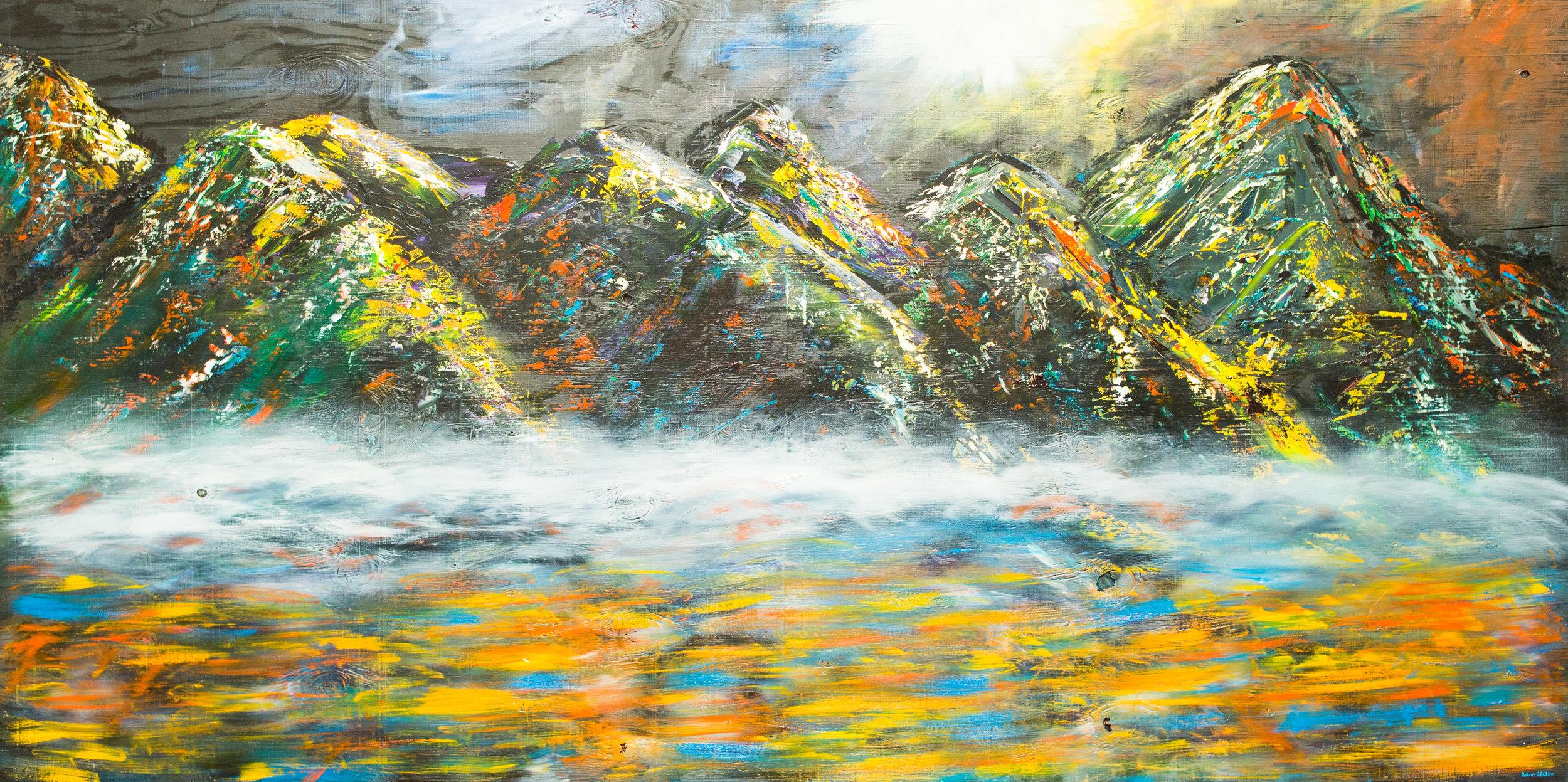Oscar Sheldon is an oil painter based in Los Angeles.
