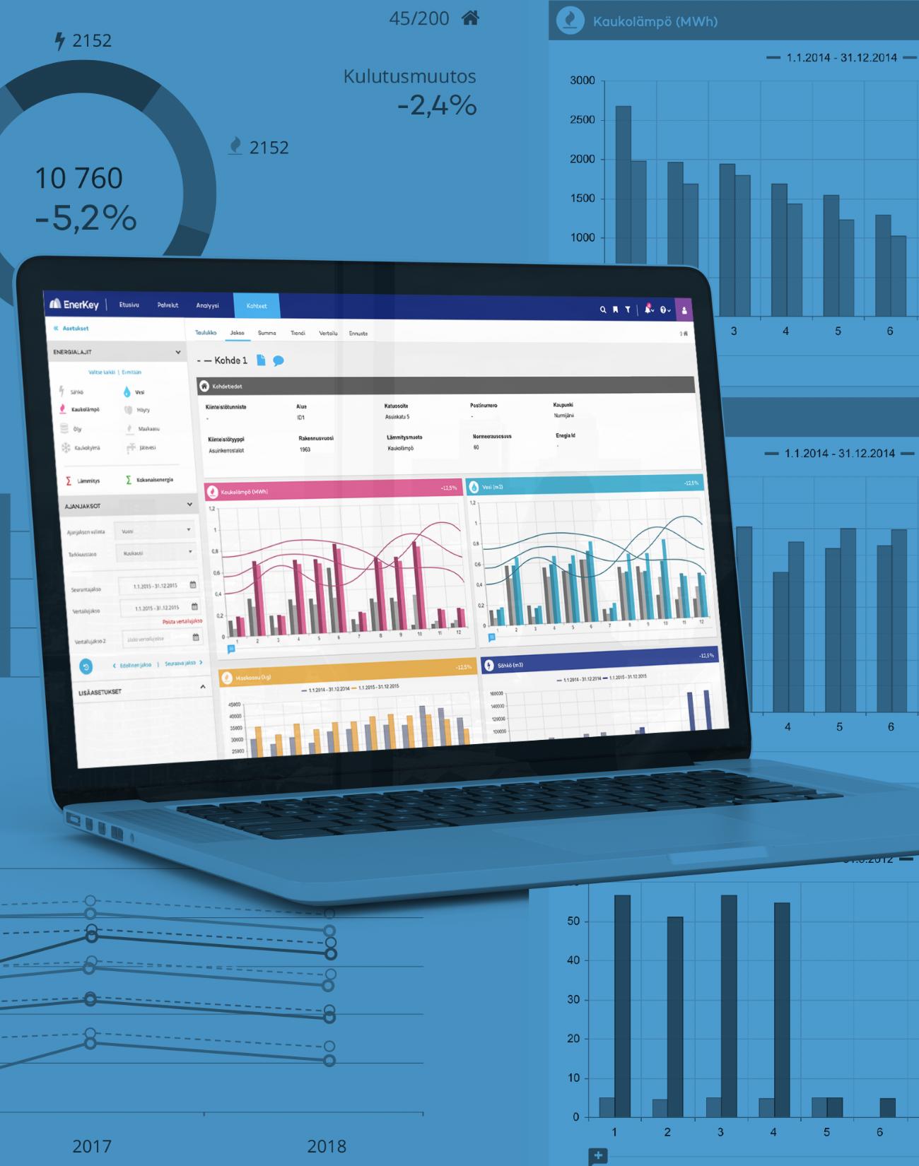 EnerKey — User-Focused Data Visualisation for Energy Management