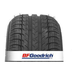 Le BF Goodrich G-Grip est équipé d'une bande de roulement qui lui permet d'évacuer l'eau plus rapidement pour un freinage optimal et une meilleure tenue de route dans les virages. -