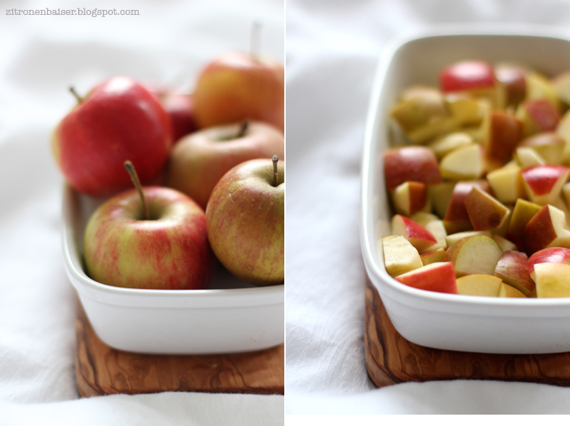 Rezept Apple Crumble