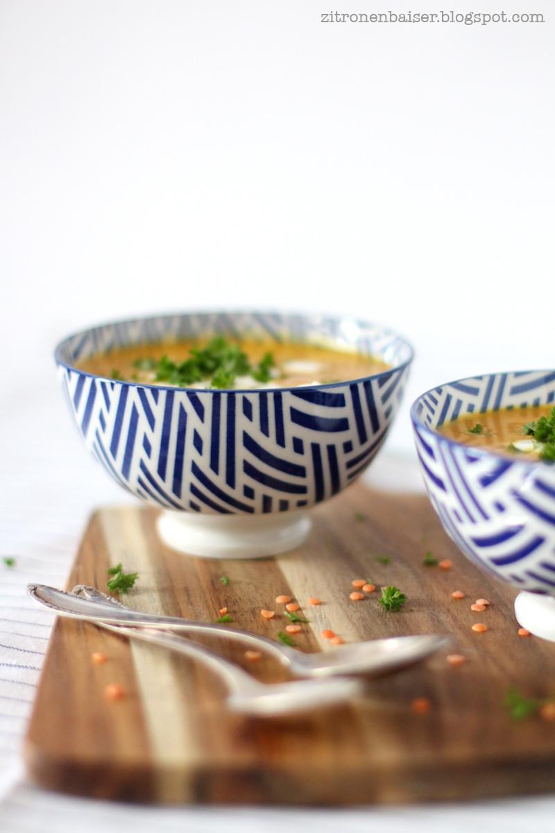 Rezept Rote-Linsensuppe vegetarisch und vegan