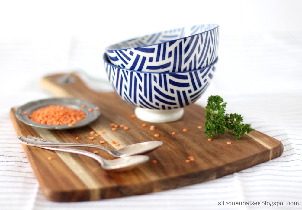 Rezept Rote Linsensuppe mit Ingwer und Orange Zitronenbaiser Blog