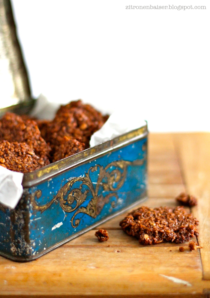 Rezept Schokoladen-Kokos-Cookies Zitronenbaiser Blog