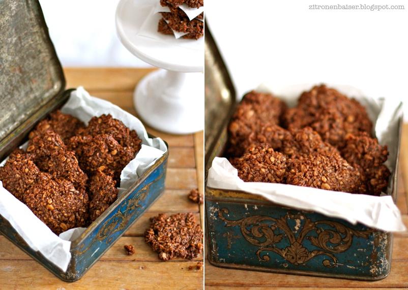 Rezept für leckere Schokoladen-Kokos-Cookies / THE.WAITRESS. Blog
