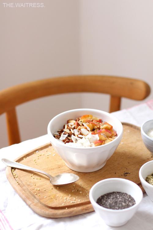 Hirseporridge - meine liebsten Herbstrezepte / THE.WAITRESS. Blog