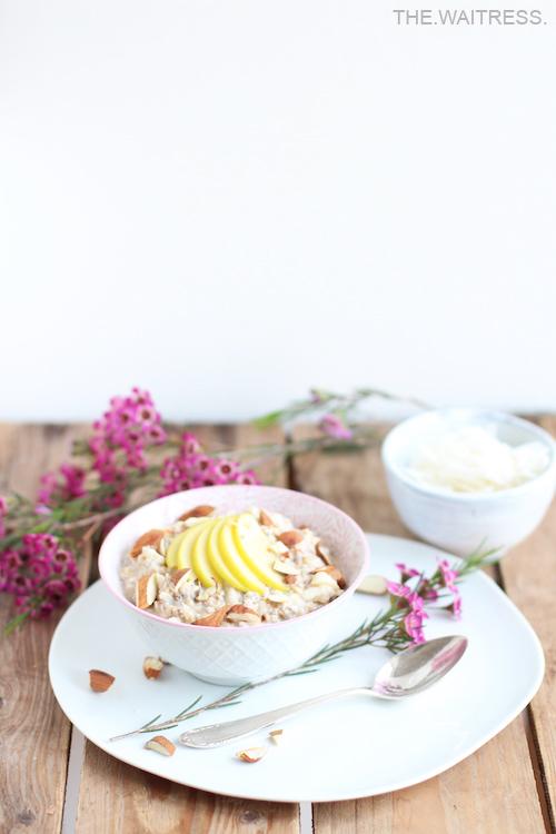 Rezept für veganes Bircher Müsli / Theresa Kellner