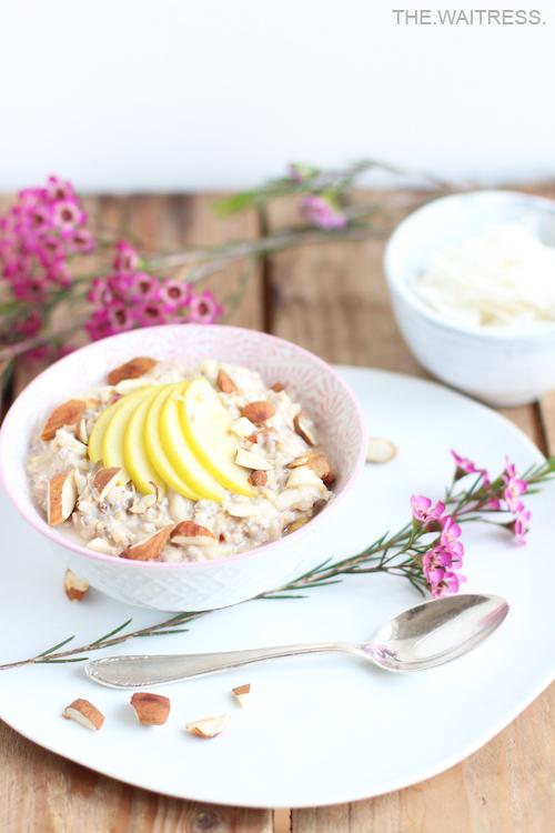 Rezept für veganes Bircher Müsli - gesund und lecker / Theresa Kellner