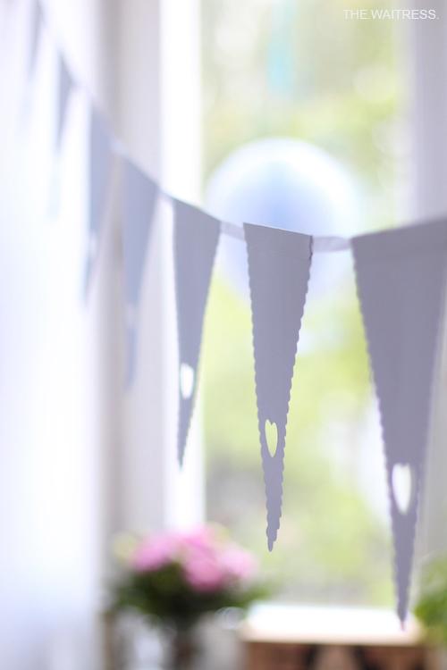 Dekoration für Frozen Geburtstagsparty / THE.WAITRESS. Blog