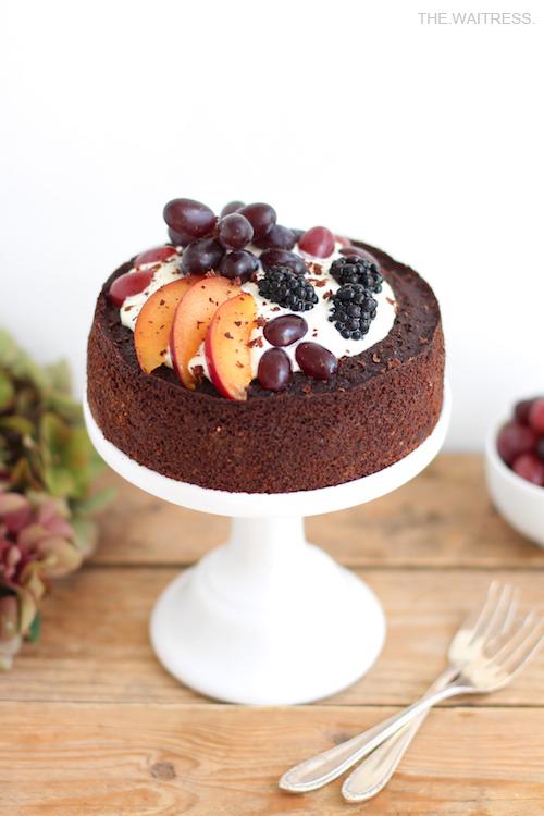 Rezept Rotweinkuchen mit Mascarponecreme / THE.WAITRESS. Blog