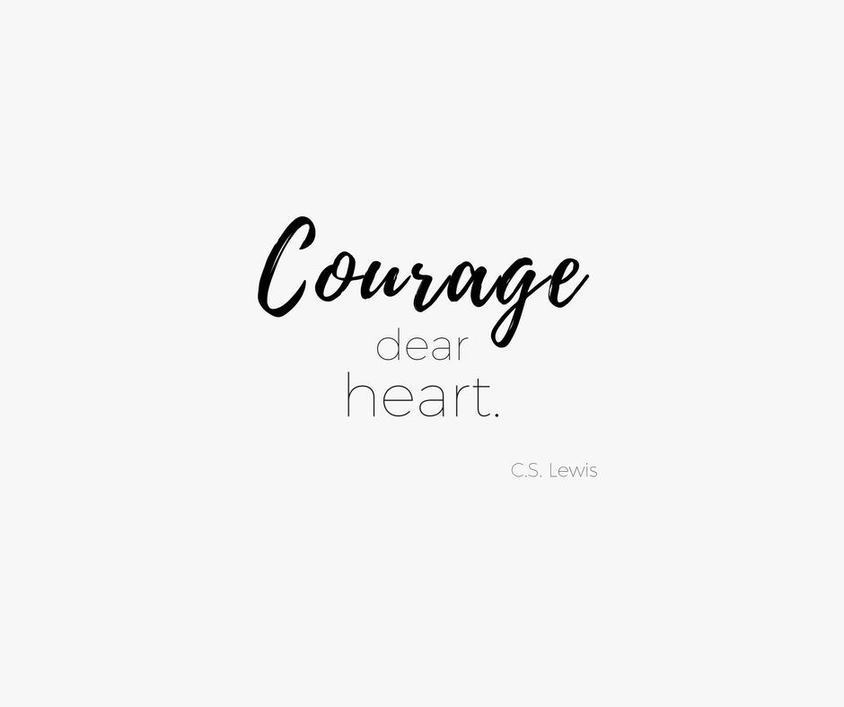 Mit Mut fangen die schönsten Geschichten an / THE.WAITRESS. Blog