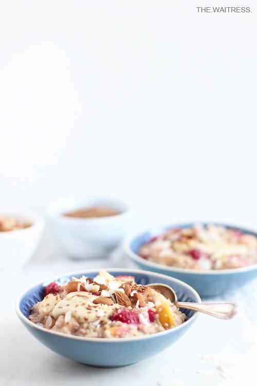 Rezept für Mein 5-Minuten-Porridge / THE.WAITRESS.