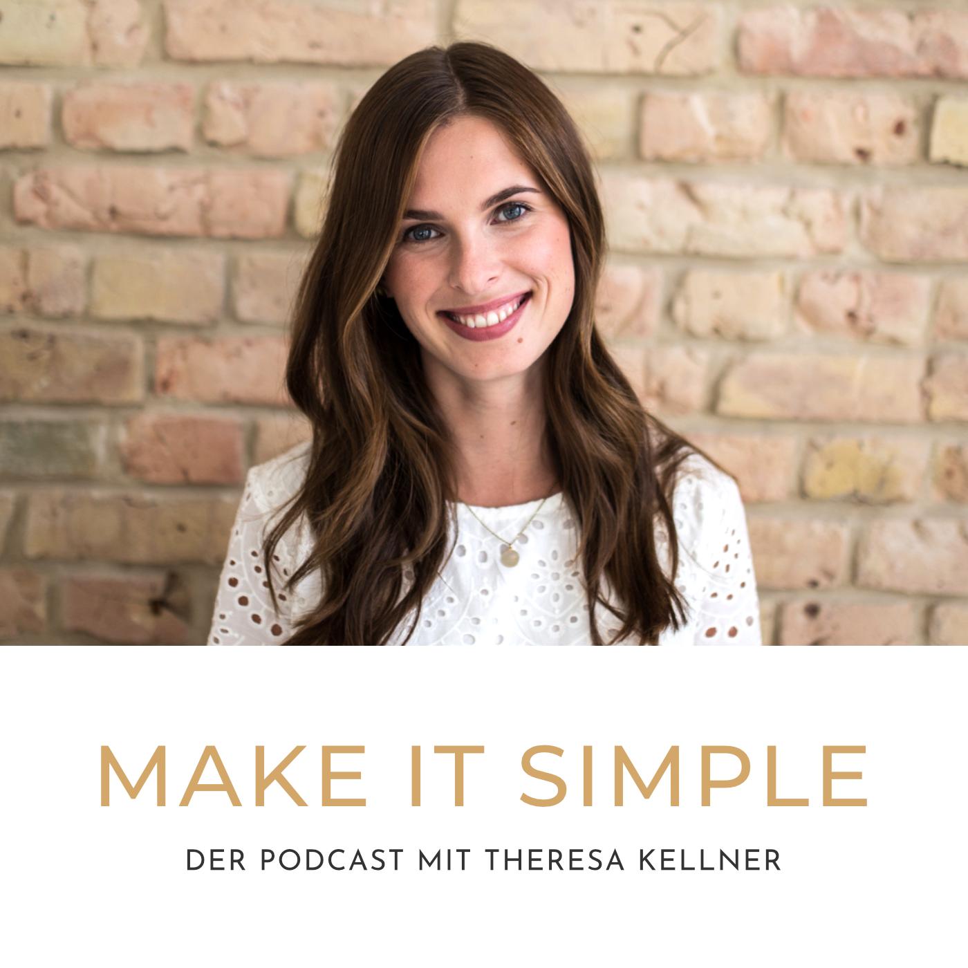 """Mein Podcast für dich! - """"Make it simple"""" ist der Podcast, der dein Leben leichter macht! Jede Woche Dienstag gibt es eine brandneue Folge für deine persönliche und berufliche Weiterentwicklung mit ganz viel Leichtigkeit. Alle Folgen findest du hier, bei iTunes und bei Spotify."""