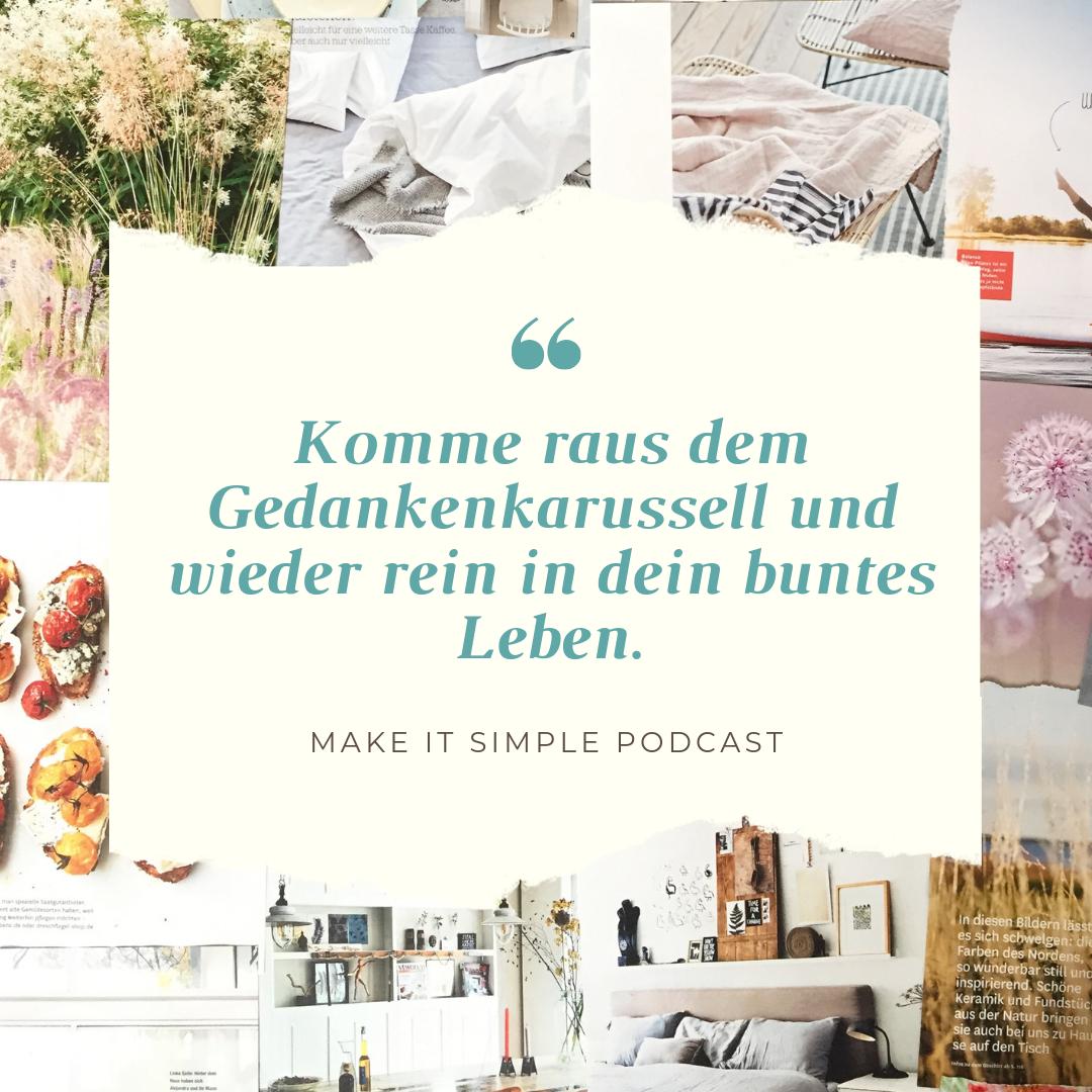 Weniger Sorgen machen - Make it simple Podcast.png