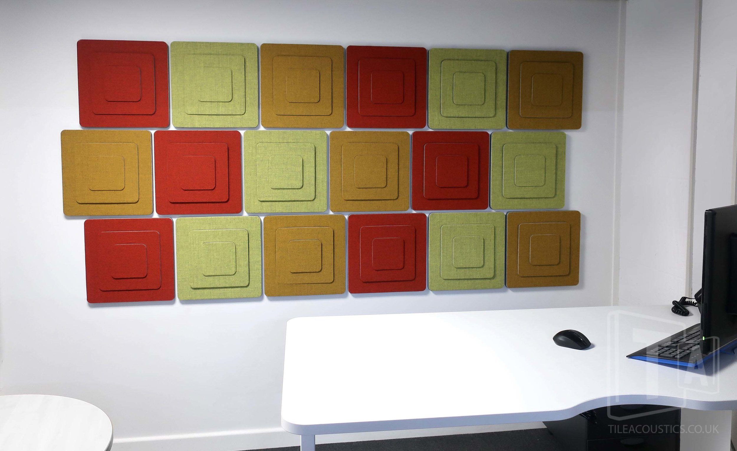 office acoustic wall art