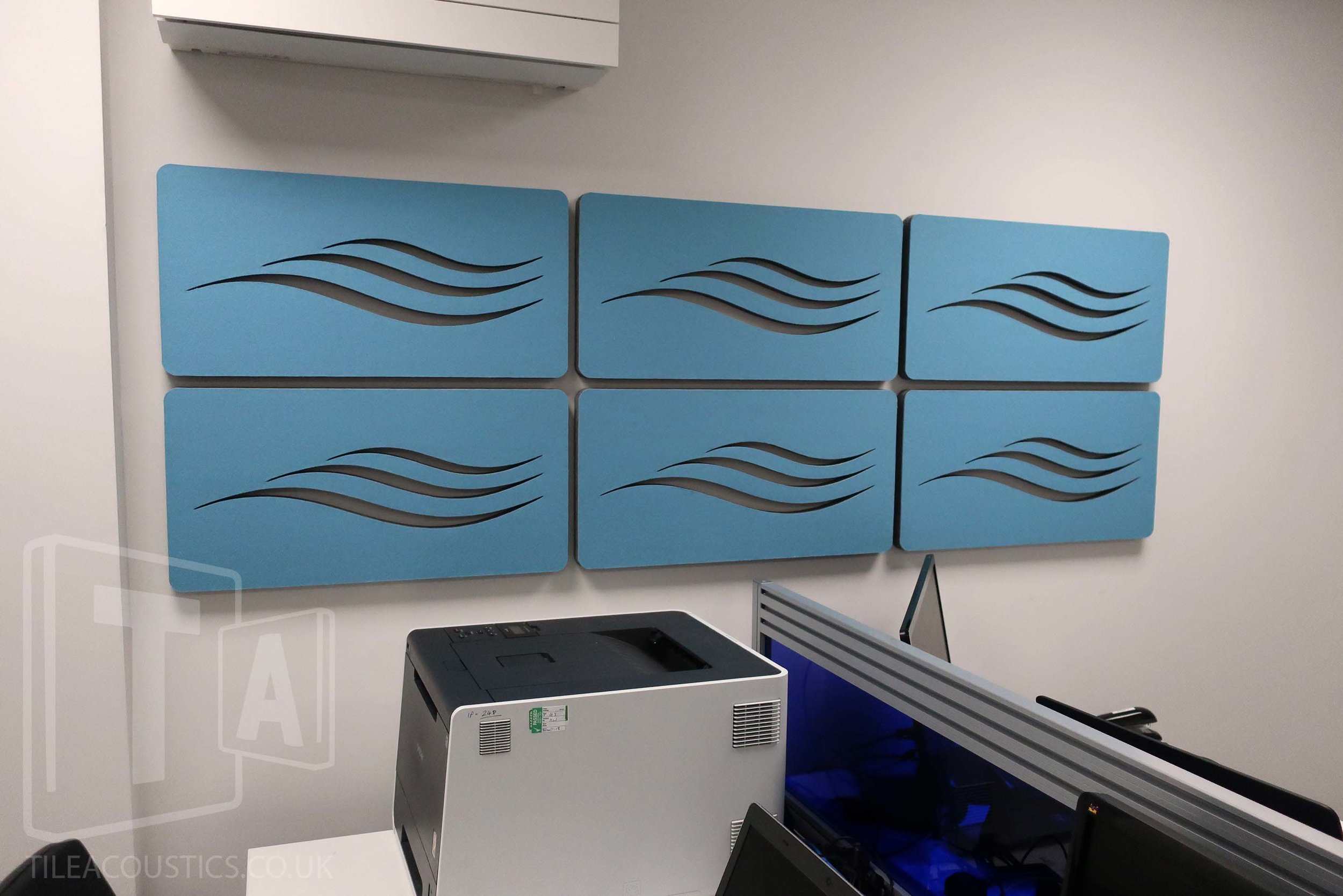 office acoustic wall tiles