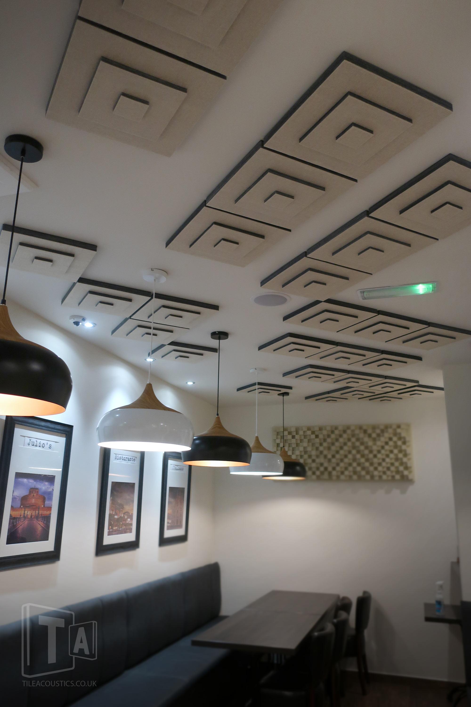 restaurant ceiling tiles