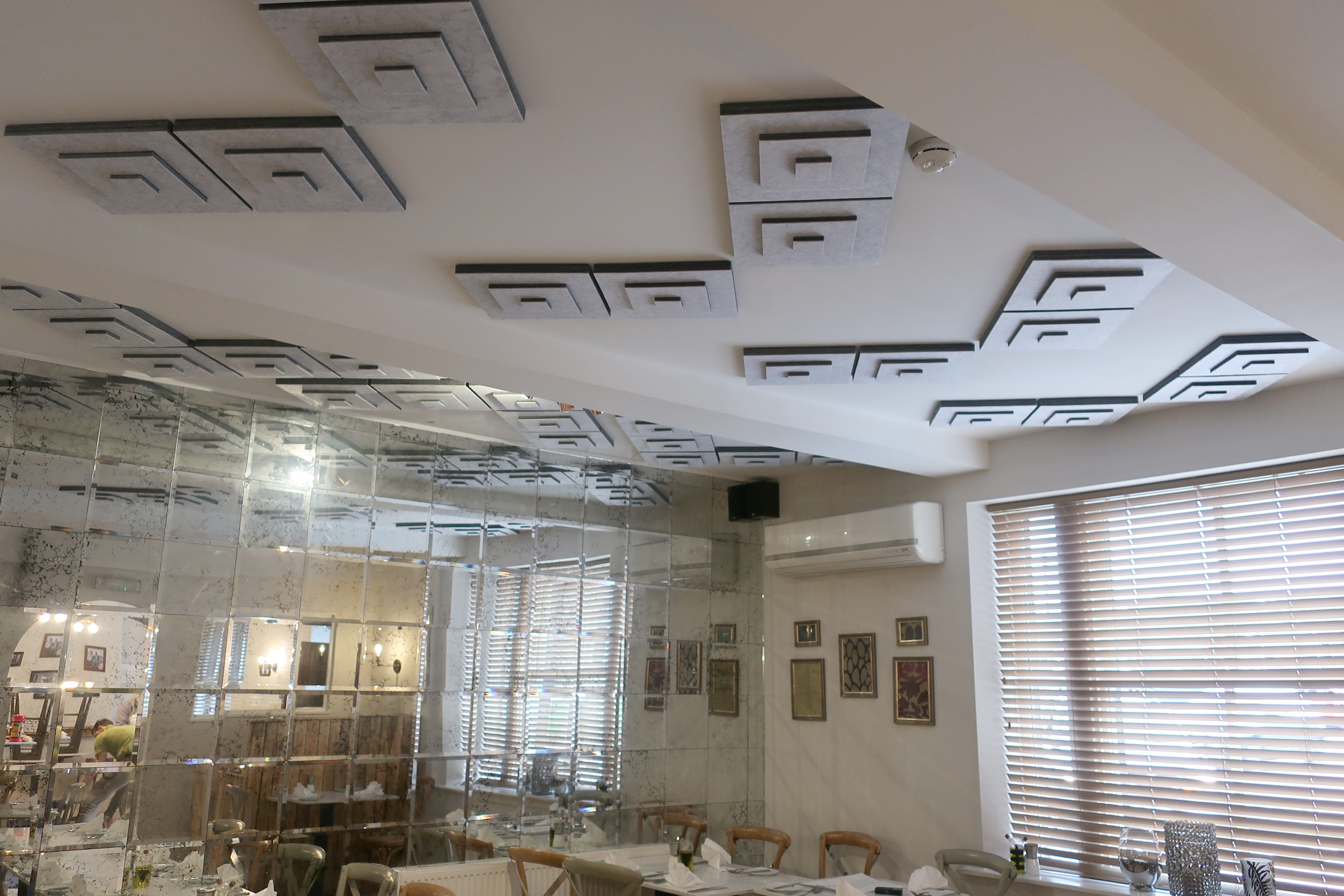 restaurant ceiling panels