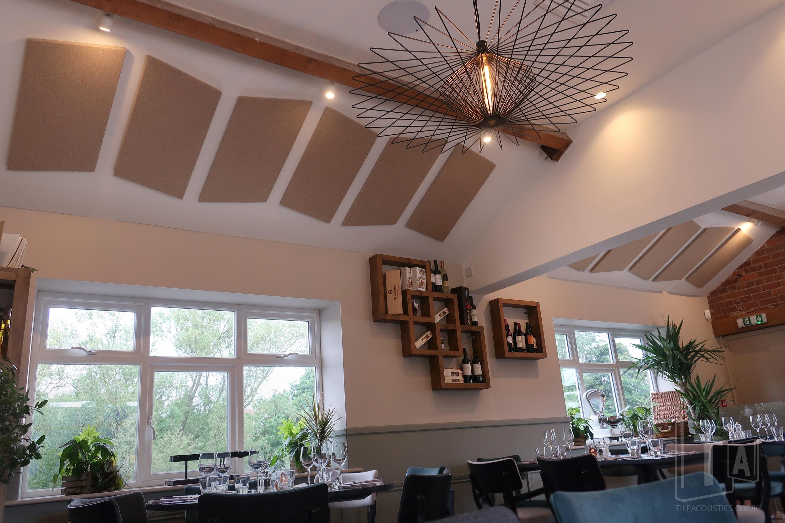 restaurant ceiling panel